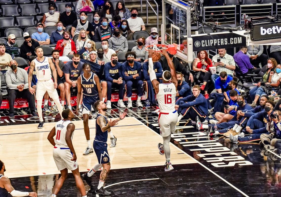 NBA Preseason: Clippers-Nuggets 2021