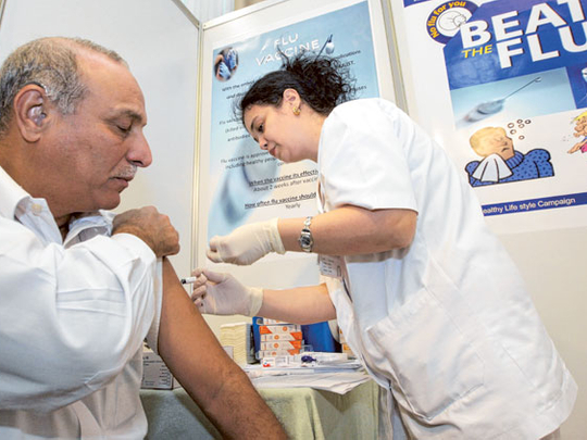 The time to get a flu vaccine is now, doctors advise