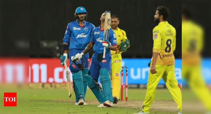 DC vs CSK: Dhawan strikes maiden IPL hundred; DC go on top of the table with 5-wicket win over CSK   Cricket News