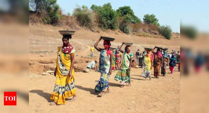 Demand for work under MGNREGA falls for fourth straight month in Sept   India News