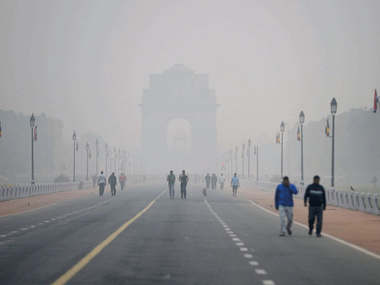 Dubai firm trains sight on India's deadly winter smog problem