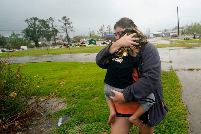 Hurricane Delta makes landfall in southwestern Louisiana