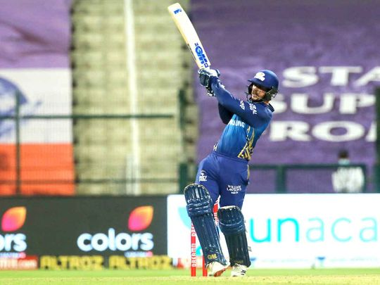 IPL 2020 in UAE: Oh pants! Mumbai Indians' match-winner Quinton De Kock causes mayhem in Abu Dhabi