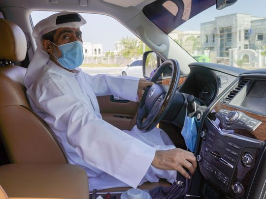 Ideal UAE motorist: No fine in 45 years for this Emirati motorist from Sharjah