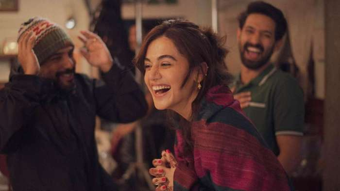 It's a wrap for Taapsee Pannu-Vikrant Massey's 'Haseen Dilruba'!