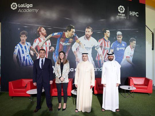 La Liga launches ambitious Football Center in Dubai