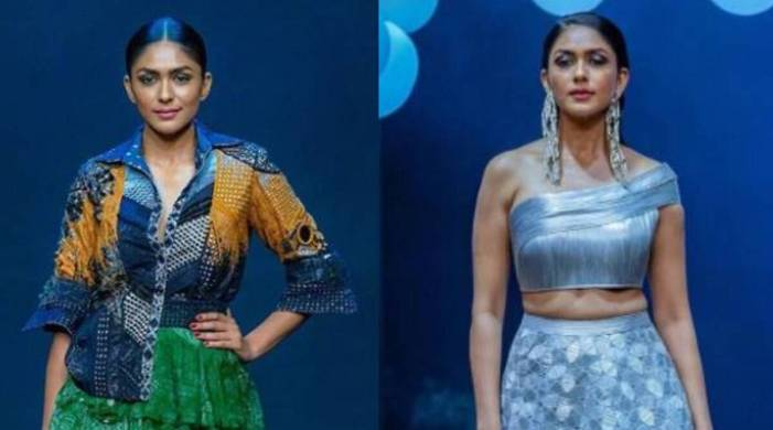 Lakme Fashion Week Grand Finale: Mrunal Thakur goes from gypsy to a futuristic look; see pics