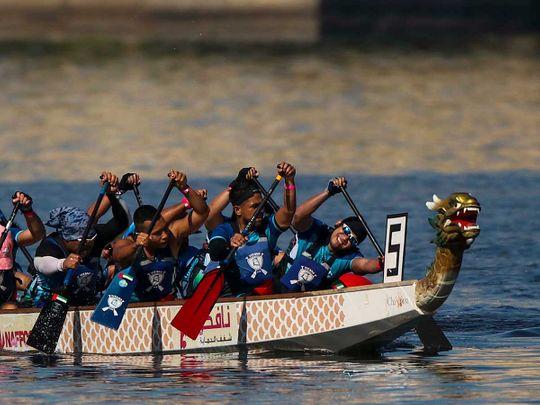 Look: Dragon Boat Challenge returns to Dubai Festival City