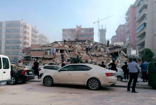 Magnitude 7.0 earthquake hits coastal Turkey, Greece, USGS reports
