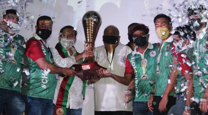 Mohun Bagan handed I-League 2019/20 trophy, seven-month wait finally ends