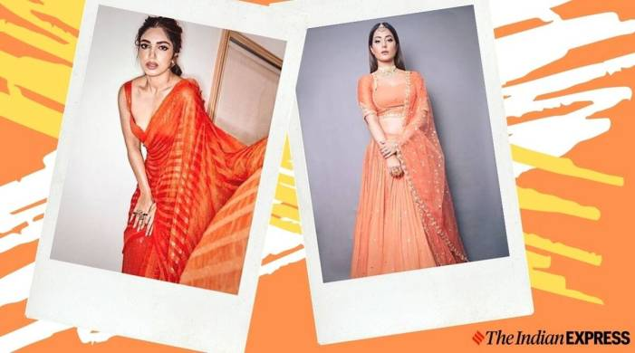 Navratri 2020 Day 2: Pack a punch with orange, take cues from Bollywood