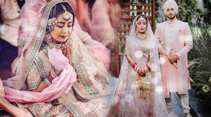 Neha Kakkar reveals who gifted her 'dream' wedding lehenga