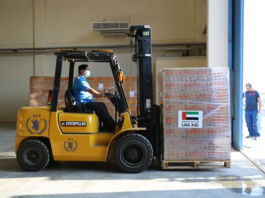 Nobel Peace Prize winner World Food Programme acknowledges UAE's support in providing food aid