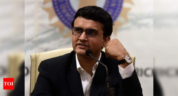 Planning to start domestic cricket from January 1: Sourav Ganguly | Cricket News