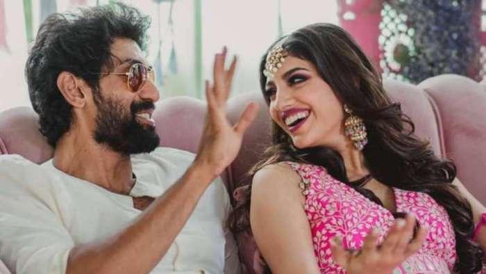 Rana Daggubati and Miheeka Bajaj celebrate first Dussehra as married couple; pics inside
