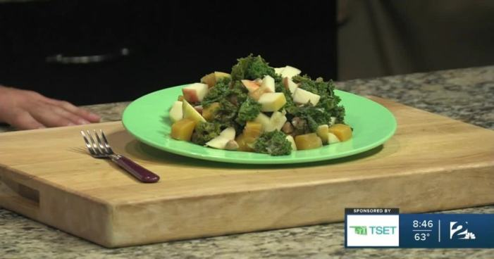 Shape Your Future Healthy Kitchen: Apple, Butternut Squash, Chickpea & Kale Hash