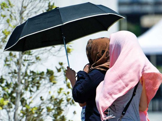UAE weather: It's mostly sunny, partly cloudy and there's a chance of rainfall Eastward