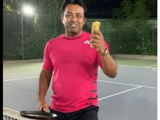 WATCH: India's old head Leander Paes up for the Old El Paso challenge
