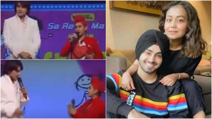 When Neha Kakkar's beau Rohanpreet Singh participated in singing show hosted by Aditya Narayan as a child