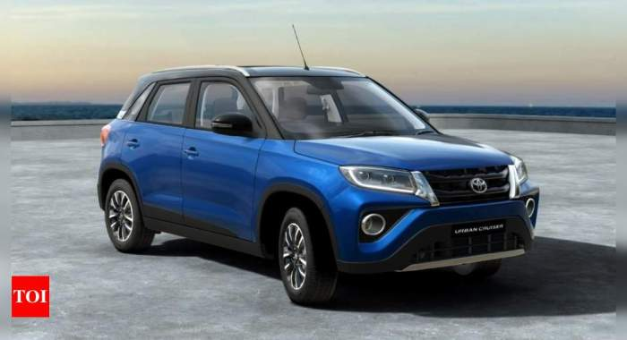 toyota urban cruiser: Toyota dispatches Urban Cruiser SUV, deliveries to commence soon