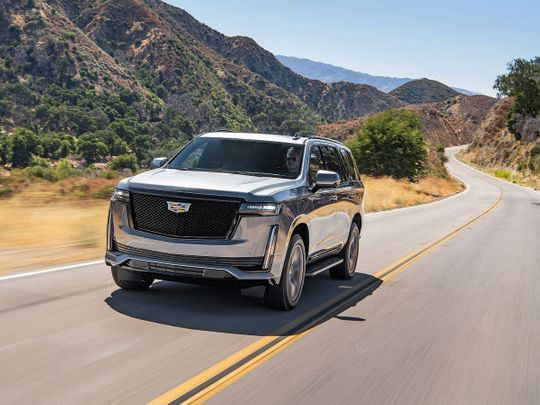2021 Cadillac Escalade launched in the Middle East