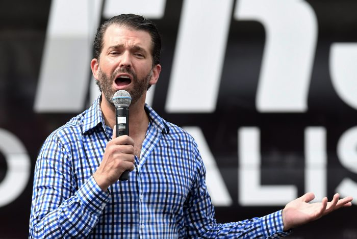 Donald Trump Jr. tests positive for Covid-19, but is asymptomatic
