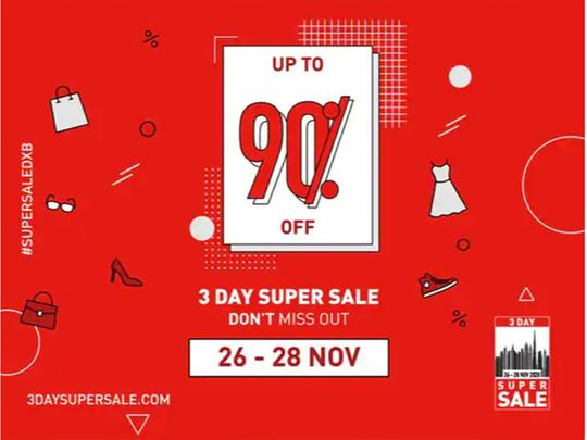 Dubai announces 3-Day Super Sale: Up to 90% off this weekend