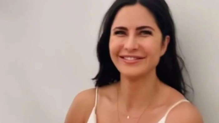 Katrina Kaif squirms, smiles during COVID-19 test before shoot