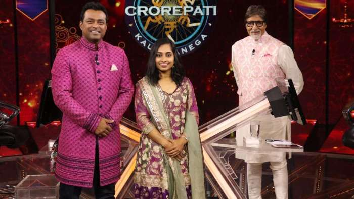 Leander Paes, Dipa Karmakar grace the 'hot seat' on Amitabh Bachchan's Karamveer special episode