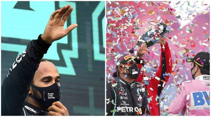 Lewis Hamilton takes record 7th F1 title with a win in Turkey