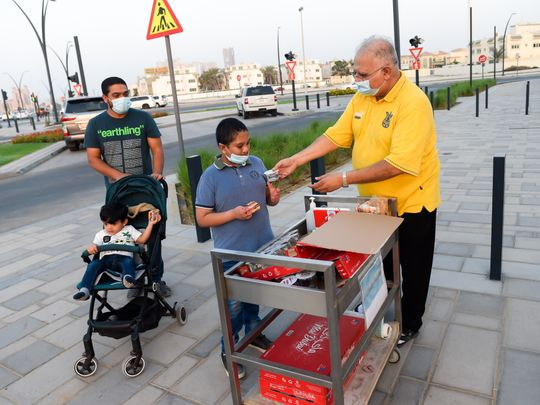 Pakistani expat wins hearts with selfless gesture in Sharjah