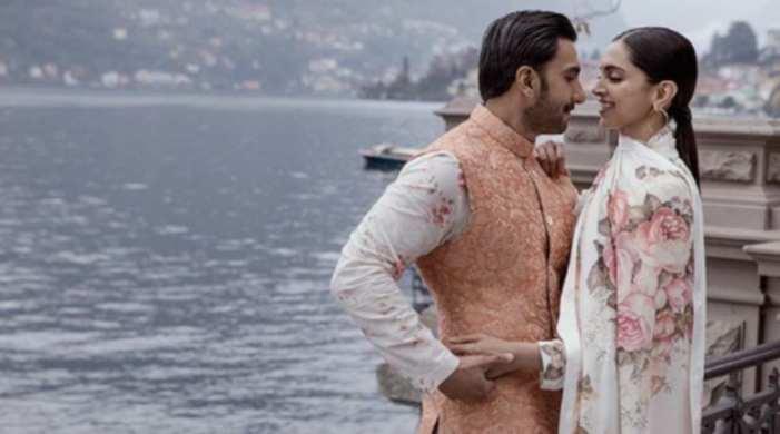 Ranveer Singh shares anniversary wish for his 'gudiya' Deepika Padukone