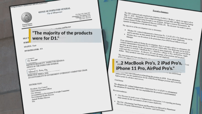 Report: Former Animal Welfare director spent city funds on Apple products, office upgrade