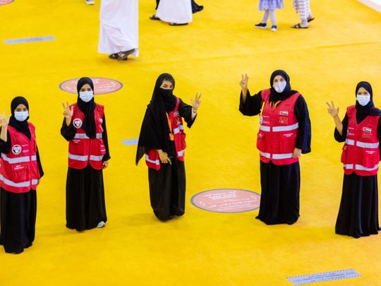 Small army of volunteers kept Sharjah book fair running smoothly for 11 days