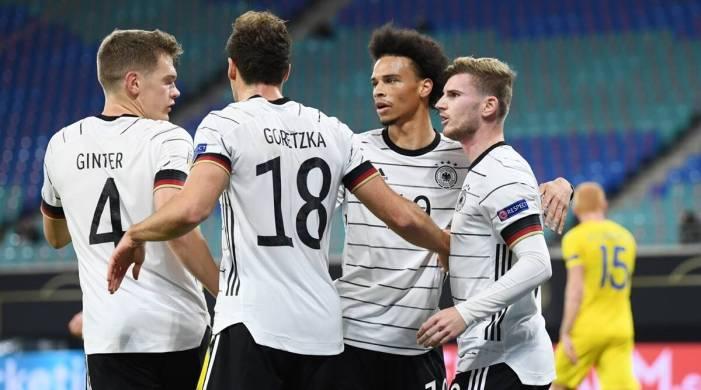 Timo Werner brace helps Germany go top, Spain held in UEFA Nations League