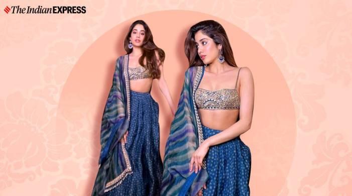 Janhvi Kapoor gives wedding fashion goals in this Arpita Mehta lehenga