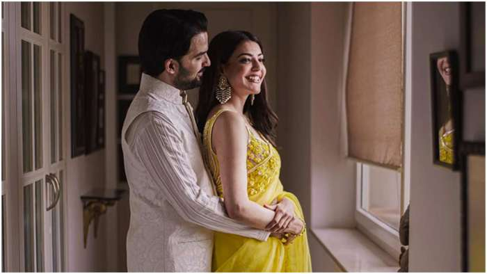 Kajal Aggarwal and Gautam Kitchlu are blissfully 'intertwined' in unseen engagement photo