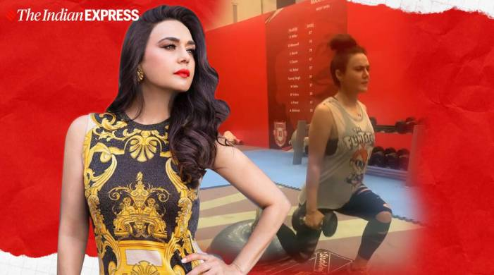 Preity Zinta effortlessly aces lunges with a twist; watch video