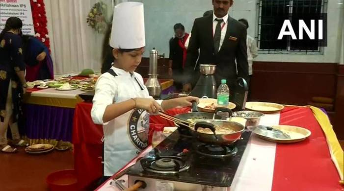Tamil Nadu girl cooks 46 dishes in 58 minutes; creates world record