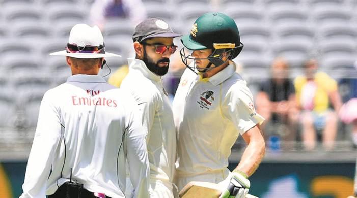 Virat Kohli finds sledging 'pointless' but Tim Paine won't take 'backward step' if need be