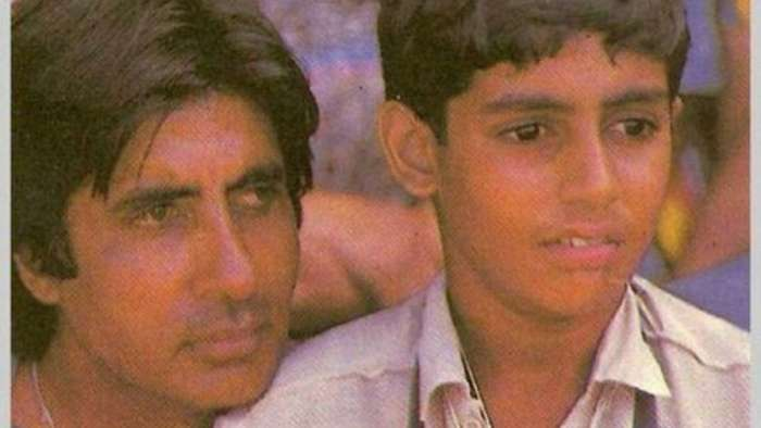 Amitabh Bachchan remembers son Abhishek Bachchan's first autograph with throwback photo