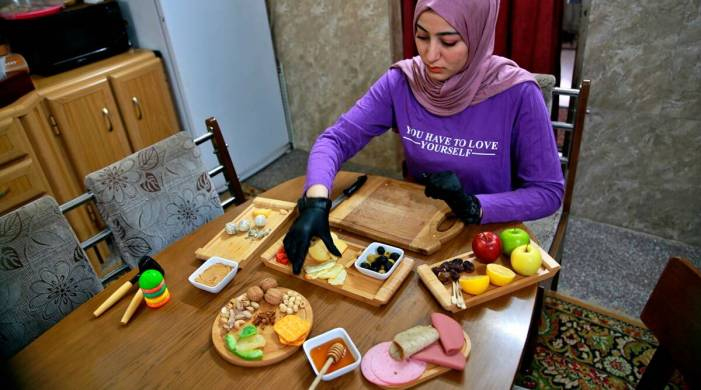 Pandemic restrictions a business boon for some Iraqi women