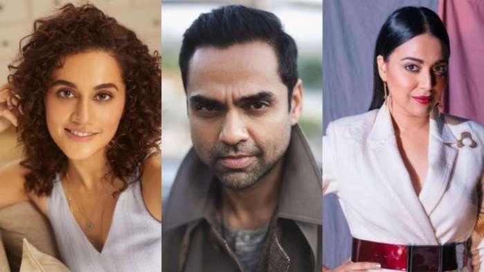Abhay Deol praises Taapsee Pannu, Swara Bhasker, Farah Khan Ali, says 'you all should be in next Rihanna video'