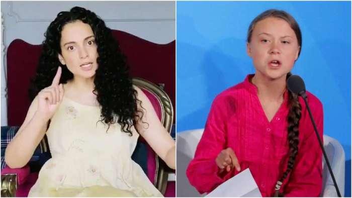 After Rihanna, Kangana Ranaut attacks Greta Thunberg, calls her 'dumb and spoilt brat' for supporting farmers