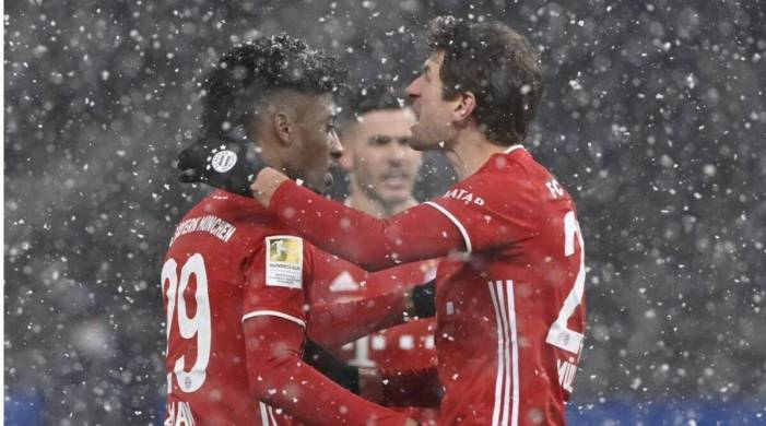 Bayern Munich leave for Club World Cup after beating Hertha 1-0