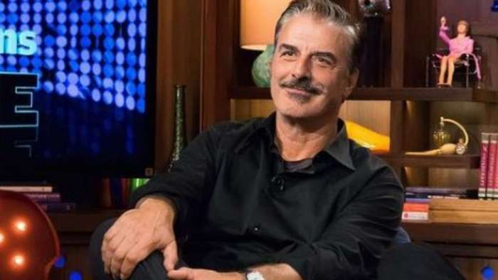Chris Noth addresses reports that he's not returning as Mr Big