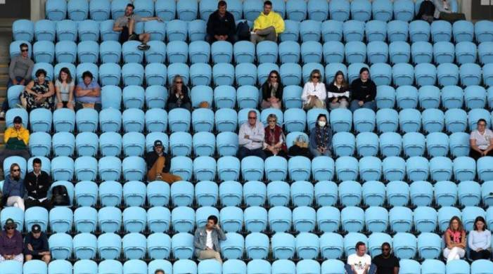 Game, set and mask: Australian Open welcome back fans on opening day