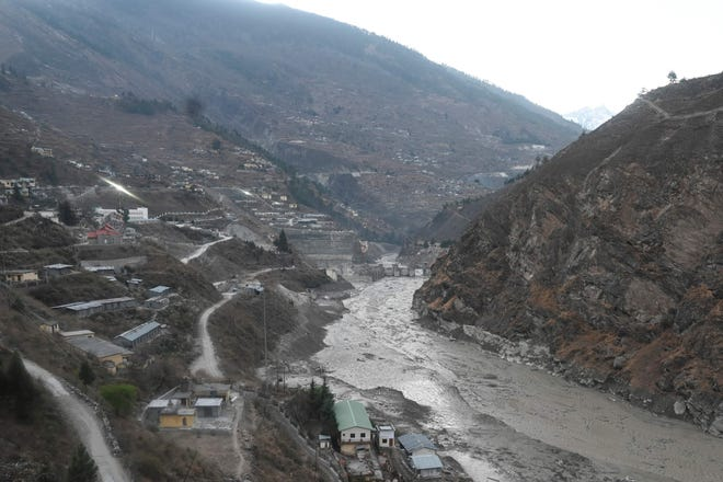 How does a glacier burst? Flooding in India leaves 26 dead and 165 missing.