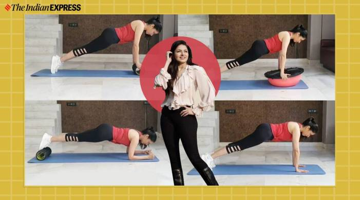 Level up your fitness game with these challenging plank variations; Bhagyashree shows how