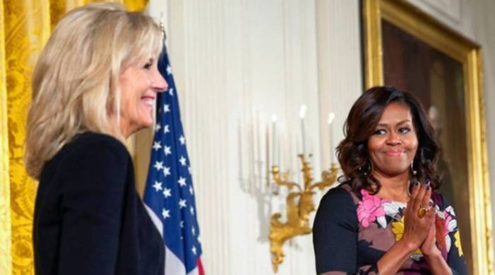 Michelle Obama receives 'delicious surprise' from Jill Biden; check it out